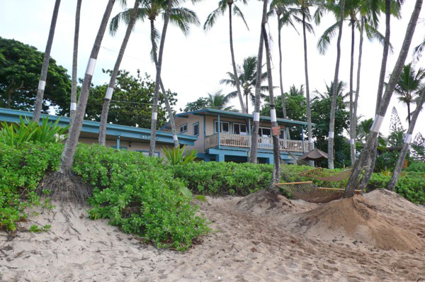 Hawaii 3日目 Ke Iki Beach Bungalows Beachfront Bungalows