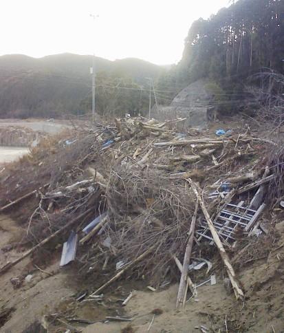 熊野川台風12号水害調査行(8)  浅里地区_f0197754_22433442.jpg