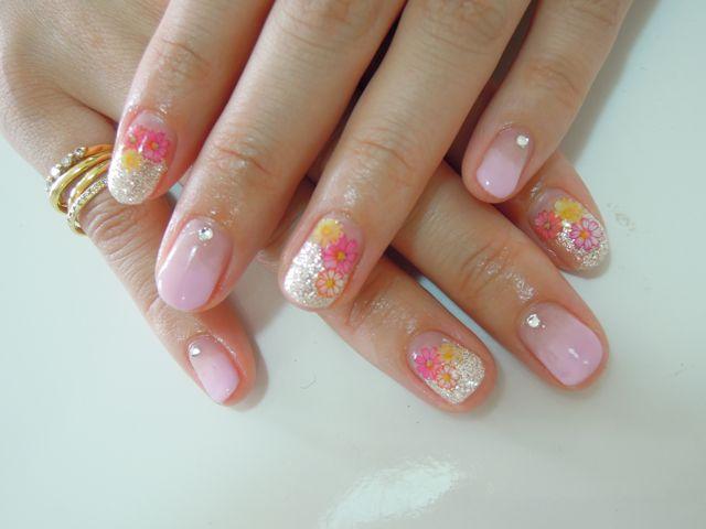 Pickup Nail〜Pink_a0239065_1183069.jpg