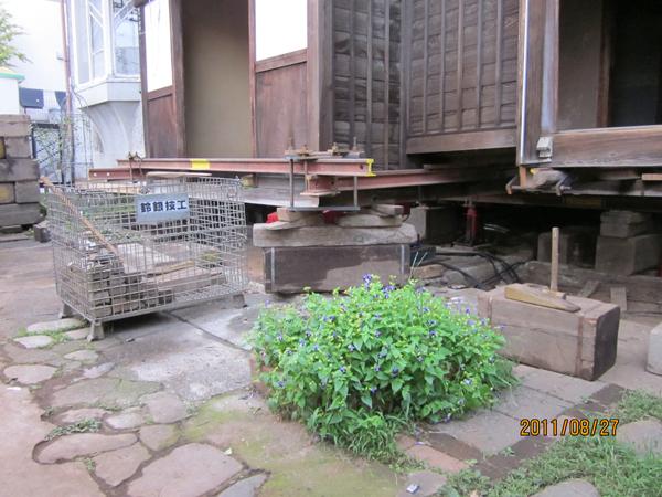 洋館付き住宅の保存修理_d0021969_21132123.jpg