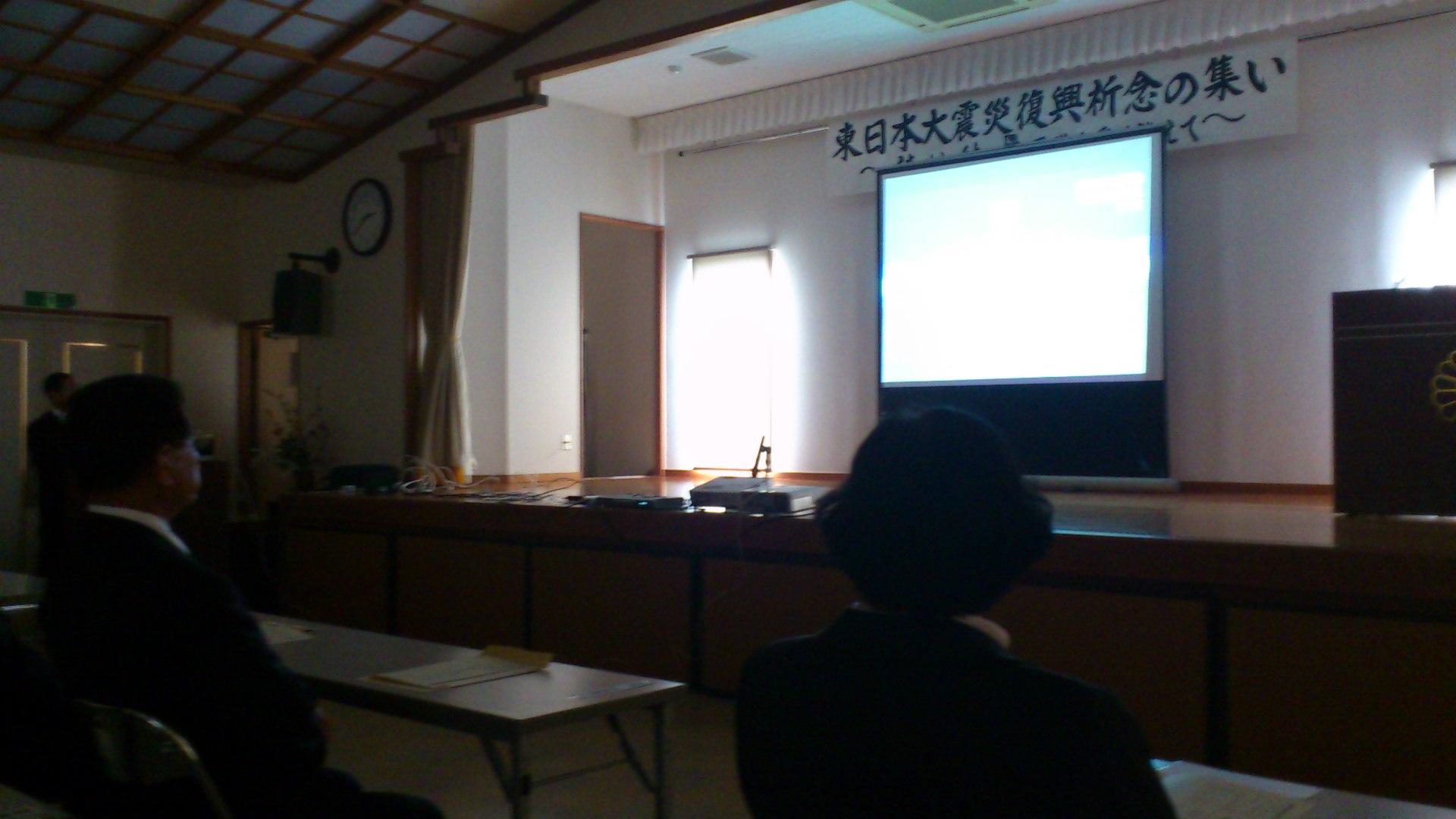 東日本大震災追悼式_b0039825_153123.jpg