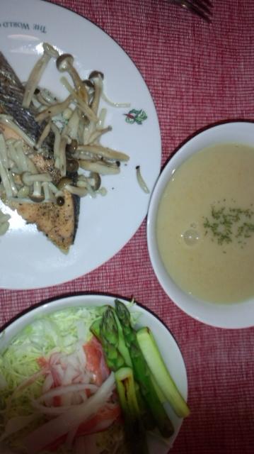 ごはん。舞茸スープ_e0114246_682831.jpg