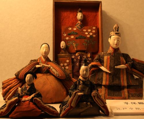 実は、蔵織に飾ってある『享保雛』の頭が禿げているのです。_d0178448_1242672.jpg