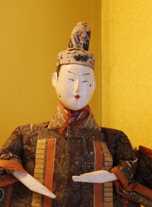 実は、蔵織に飾ってある『享保雛』の頭が禿げているのです。_d0178448_1255138.jpg