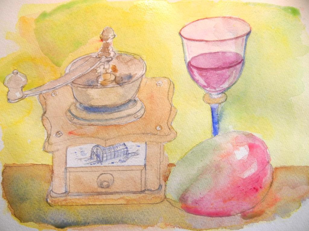 3月11日(日)マンゴーの絵を描きました!_f0060461_1633078.jpg