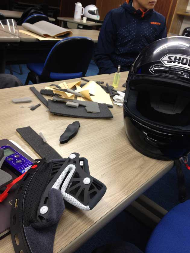 SHOEIヘルメット講習&茨城工場見学 その壱_b0163075_22142729.jpg