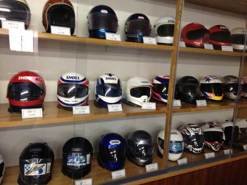 SHOEIヘルメット講習&茨城工場見学 その壱_b0163075_226640.jpg
