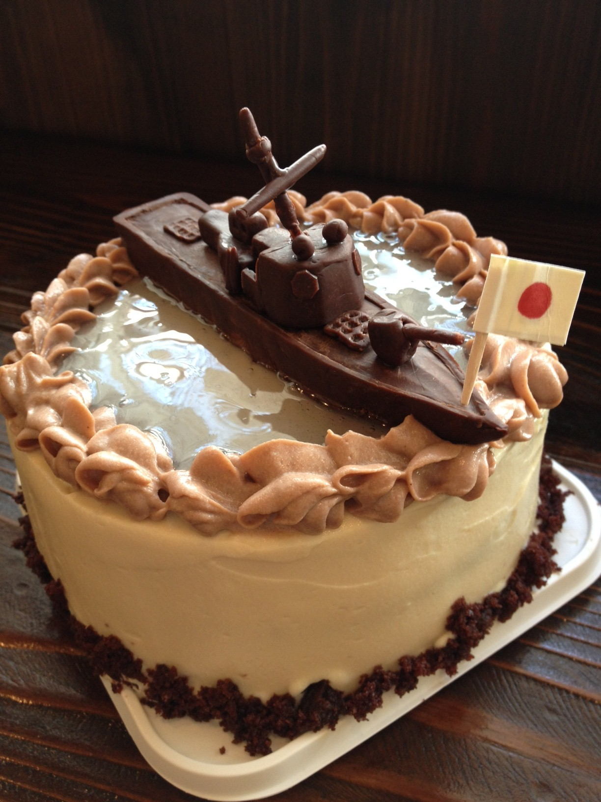 ☆イージス艦ケーキ☆_a0107782_2059680.jpg