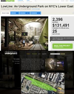 ニューヨークに今度は地下公園(LowLine)?! しかもキックスターターで10万ドルのファンディング成功_b0007805_1525323.jpg