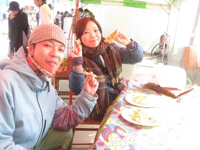 「紫川リバーマーケット」にて♪_a0125419_1447837.jpg