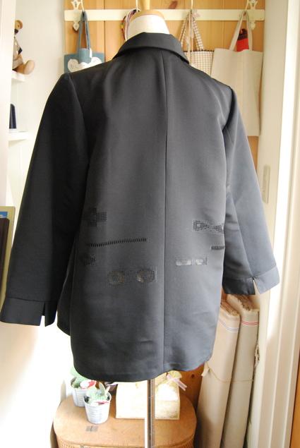 着物リメイク・羽織のブラウス_d0127925_1121383.jpg