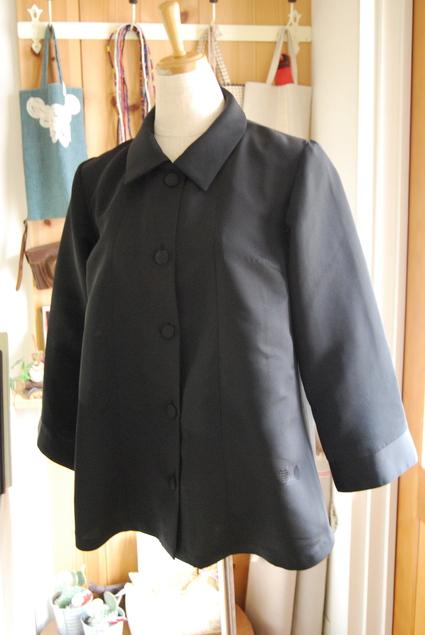 着物リメイク・羽織のブラウス_d0127925_1121493.jpg