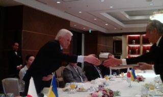 2012.3.9 ウクライナ国会議長と朝食会_a0255967_1854468.jpg