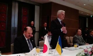 2012.3.9 ウクライナ国会議長と朝食会_a0255967_185699.jpg