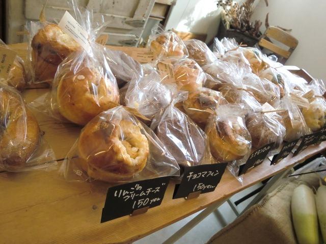 本日の野菜とパンのマーケット。_a0164280_20435932.jpg