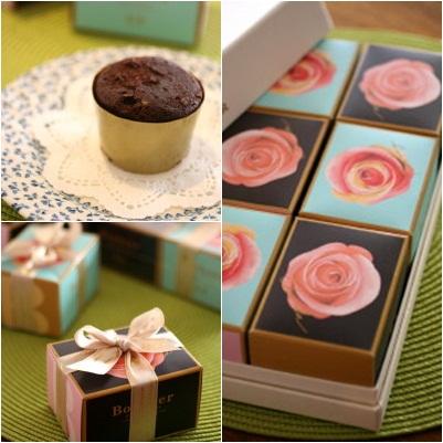 ◆濃厚プチケーキ 『Bonheer』・・・・・豊中ミオール_e0154682_2321447.jpg