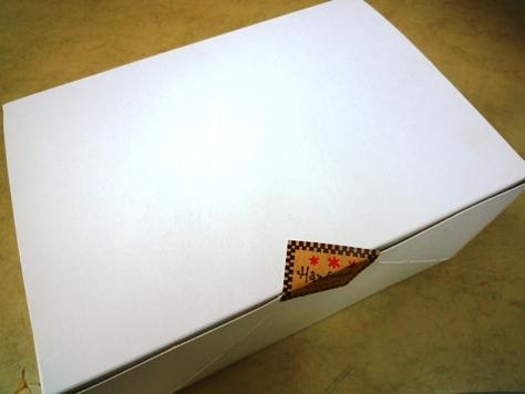 お客さまからの差し入れ 手作りのケーキ~♪_e0123286_19425036.jpg