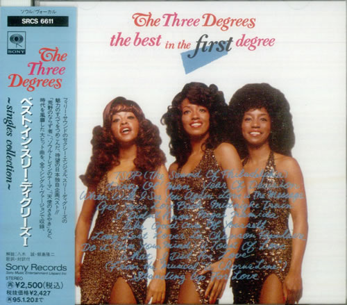 Three Degrees Album Covers