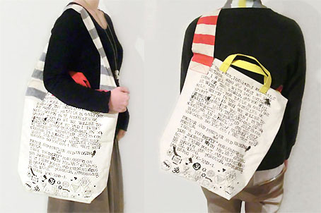2way tote bag / SOUND TRACK_d0193211_19305072.jpg