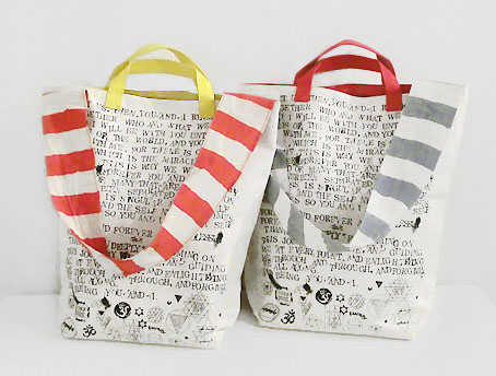 2way tote bag / SOUND TRACK_d0193211_19374444.jpg