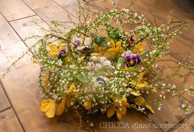 easter flower arrangement_b0213347_16202460.jpg