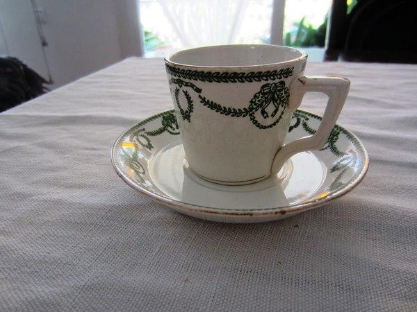 カルトゥーハ緑柄コーヒーカップ&ソーサー3 半額_f0112550_4334376.jpg