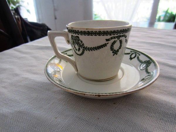 カルトゥーハ緑柄コーヒーカップ&ソーサー3 半額_f0112550_4362888.jpg