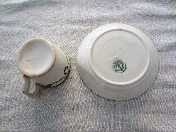 カルトゥーハ緑柄コーヒーカップ&ソーサー3 半額_f0112550_4364369.jpg