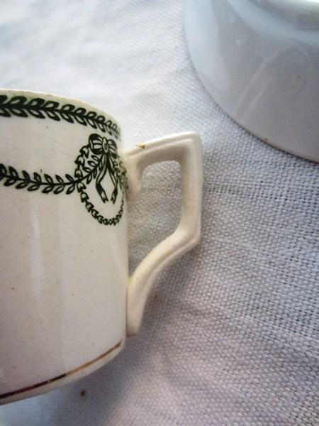 カルトゥーハ緑柄コーヒーカップ&ソーサー3 半額_f0112550_437724.jpg