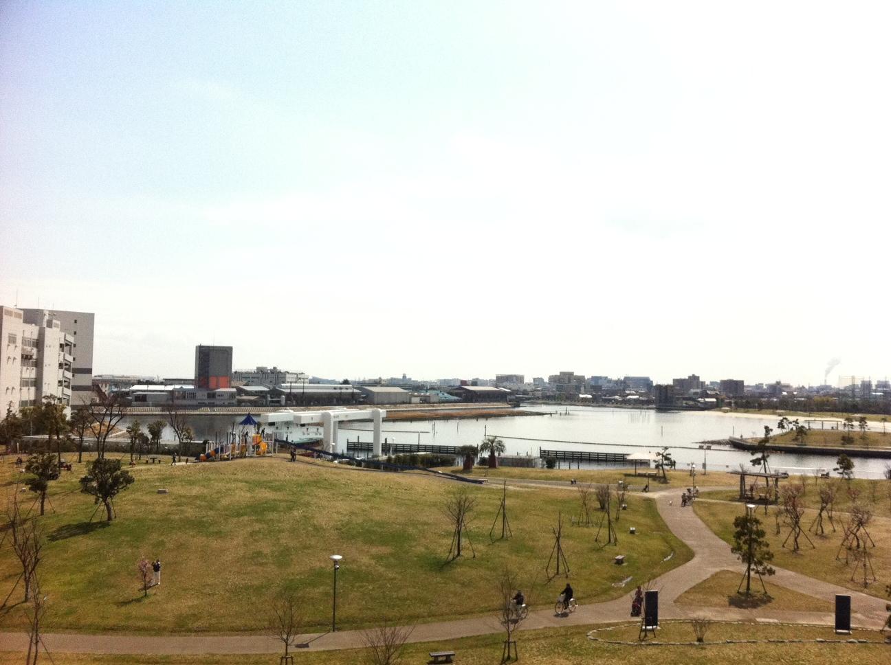 空と海のブルー。僕の命の原点「ふるはま公園」。_a0112393_14581357.jpg