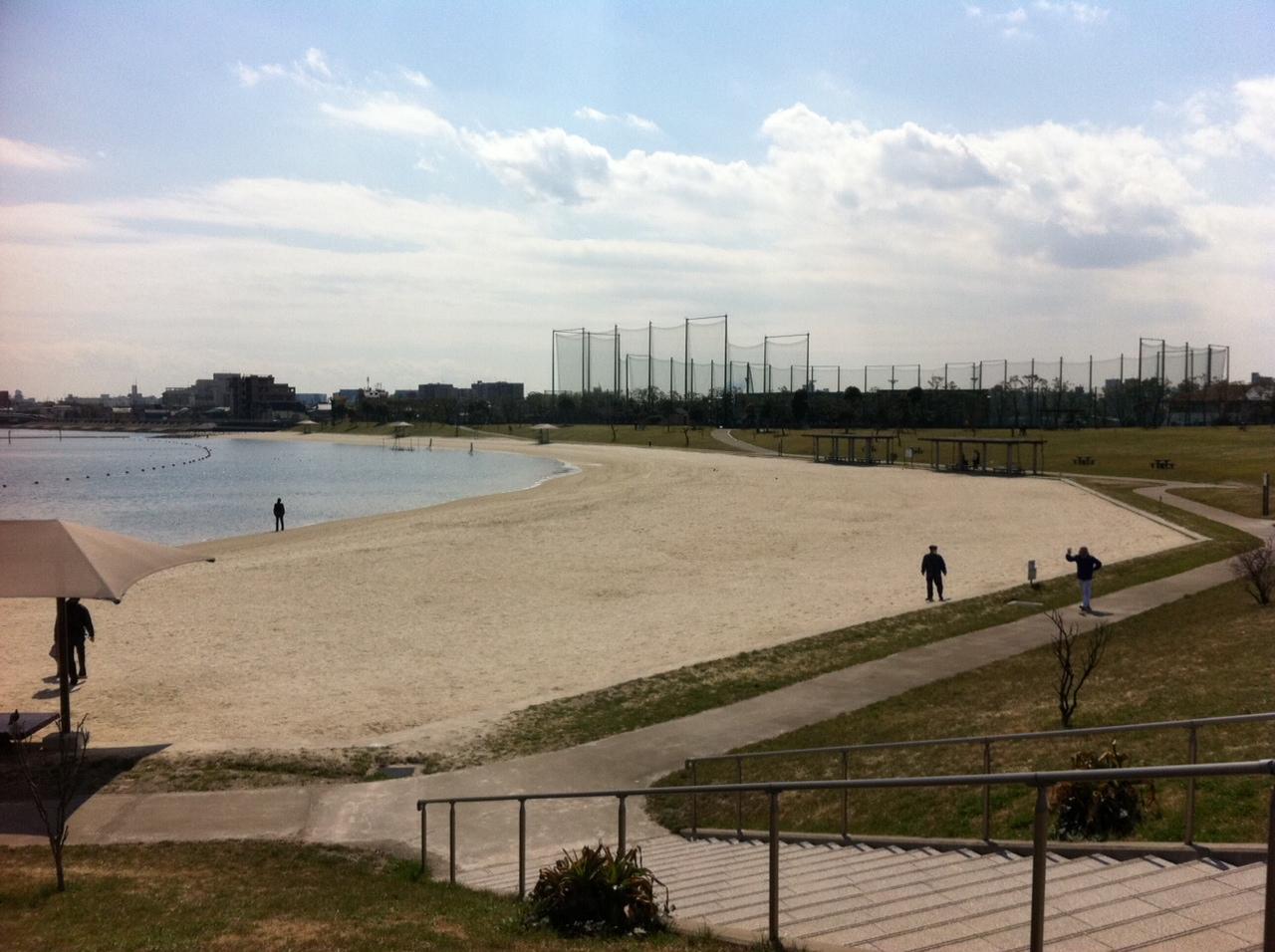 空と海のブルー。僕の命の原点「ふるはま公園」。_a0112393_14584024.jpg