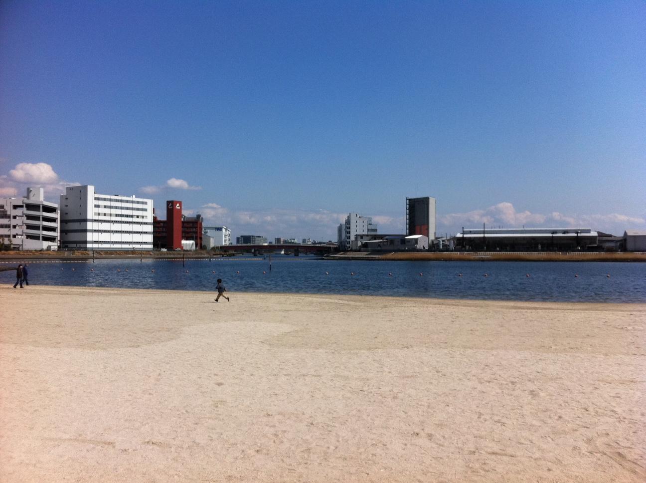 空と海のブルー。僕の命の原点「ふるはま公園。」②_a0112393_154384.jpg