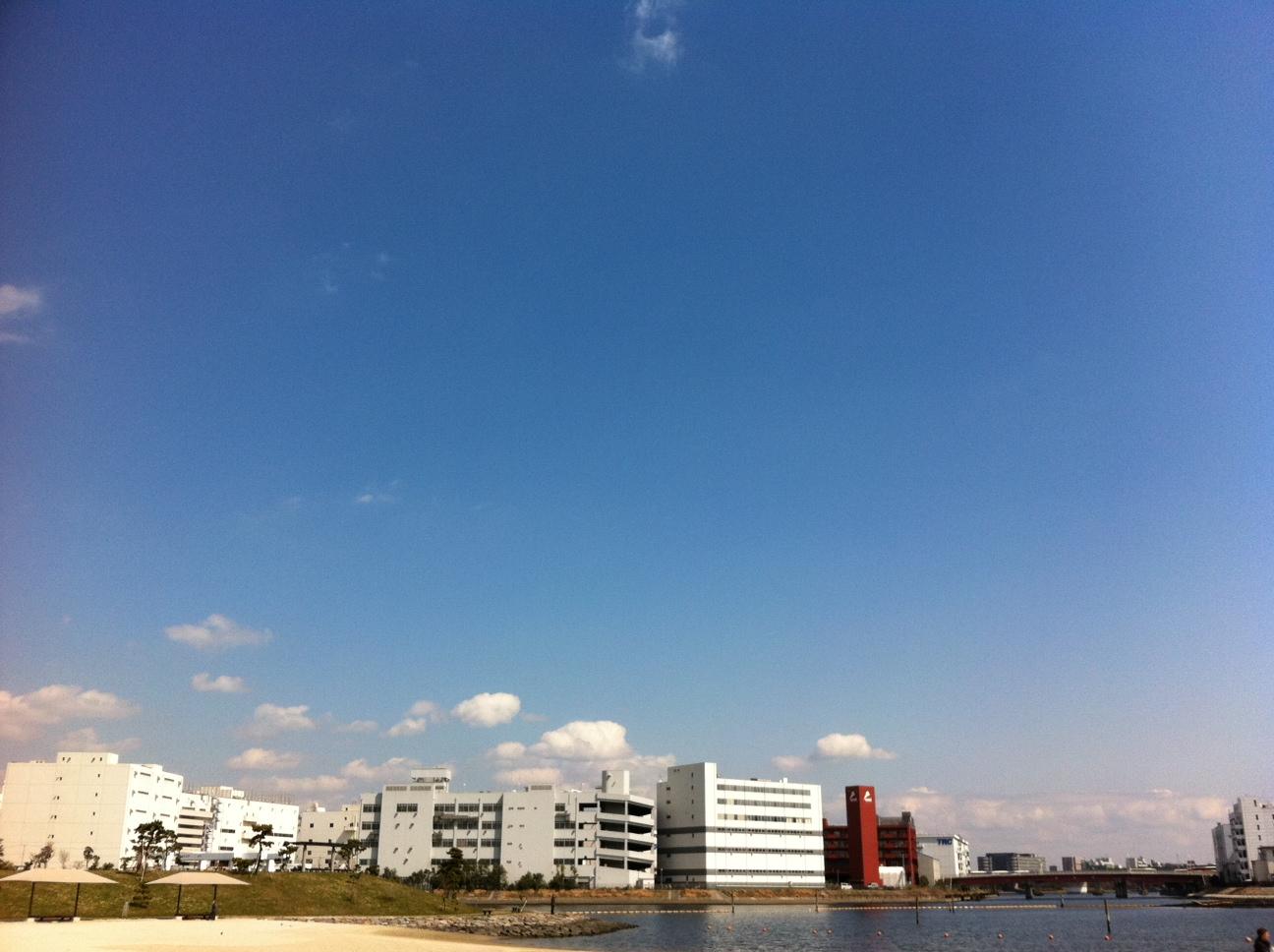 空と海のブルー。僕の命の原点「ふるはま公園。」②_a0112393_1571796.jpg