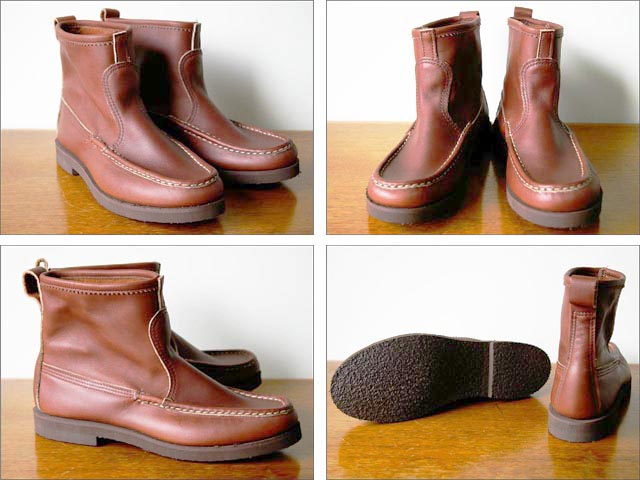 Russell Moccasin [ラッセルモカシン] KNOCK A BOUT BOOTS [ノックアバウトブーツ] brown leather _f0051306_20505427.jpg