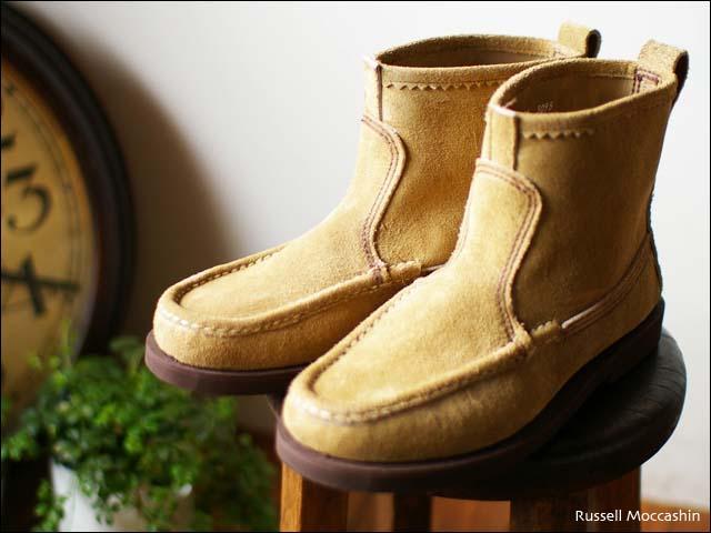 Russell Moccasin [ラッセルモカシン] KNOCK A BOUT BOOTS [ノックアバウトブーツ] laramie suede _f0051306_20535577.jpg
