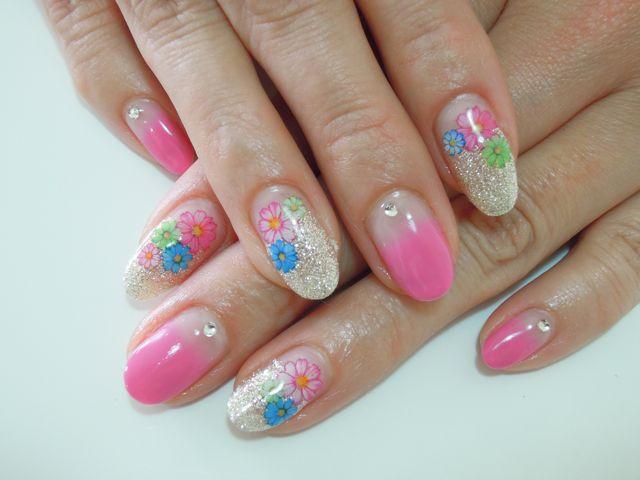 Pickup Nail~Pink_a0239065_14434420.jpg