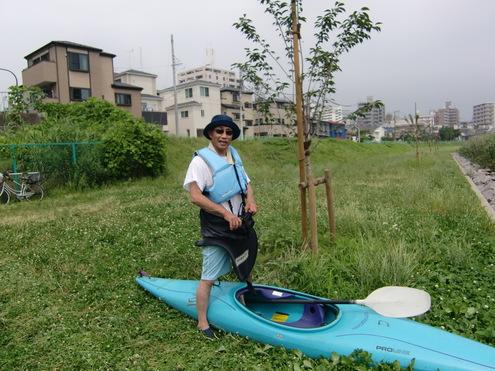 猛暑日のカヌ-教室_c0249569_18271085.jpg