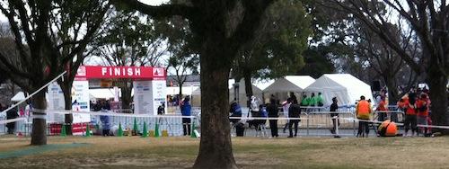 熊本城マラソン当日ラン6 ついにゴール_c0052304_23512724.jpg