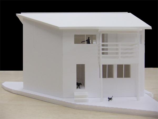 葉山A邸 模型写真!_c0225122_11284735.jpg