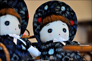 Webおじさん 塾生OBの「文化人形展」を訪ねる・・・_b0045453_17174490.jpg