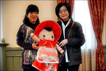 Webおじさん 塾生OBの「文化人形展」を訪ねる・・・_b0045453_17183556.jpg