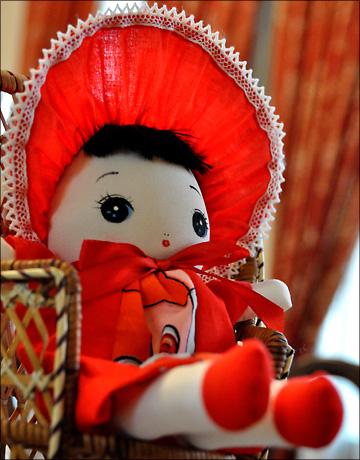 Webおじさん 塾生OBの「文化人形展」を訪ねる・・・_b0045453_1718666.jpg