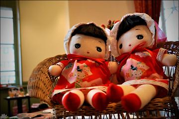 Webおじさん 塾生OBの「文化人形展」を訪ねる・・・_b0045453_1721929.jpg