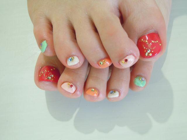 Colorful Nail_a0239065_132927100.jpg