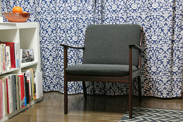「Ole Wanscher Easy Chair」_c0211307_14293049.jpg