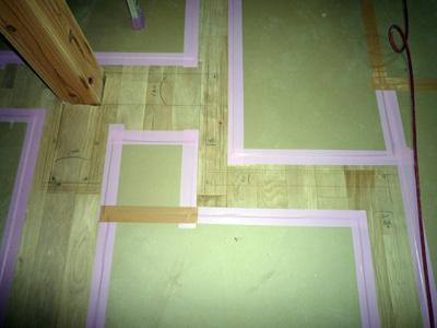 床に落書きしました。_a0148909_18314186.jpg