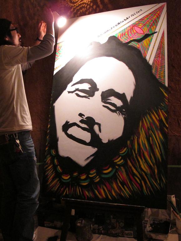 2012.2.5  Bob Marley Birthday Fes_a0252768_18193914.jpg