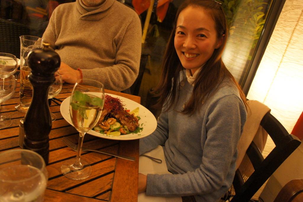 U野夫妻とアンペルマンレストランへ。_c0180686_19401179.jpg