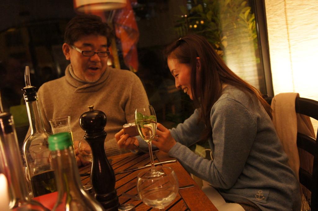 U野夫妻とアンペルマンレストランへ。_c0180686_1941232.jpg