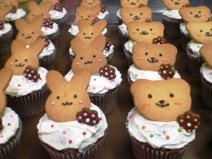 うさ&くまのカップケーキ_b0080287_14511171.jpg